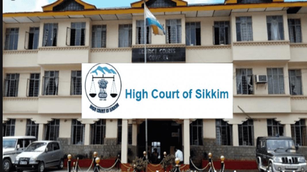 Sikkim high court-min