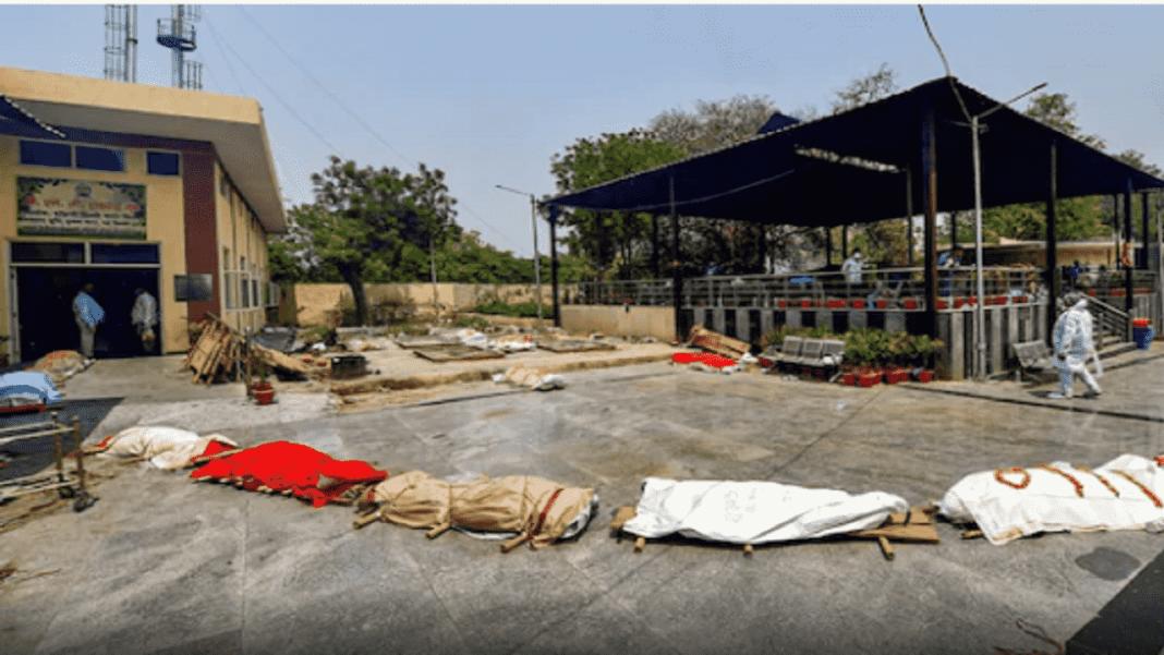 dead bodies outside crematorium-min