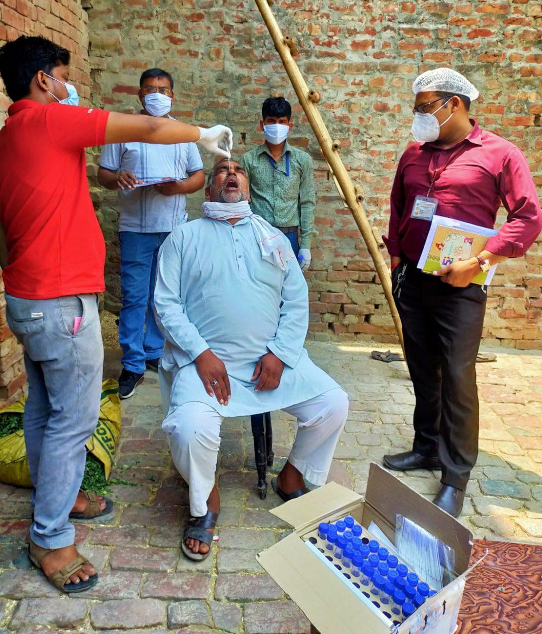 RT-PCR tests in Moradabad