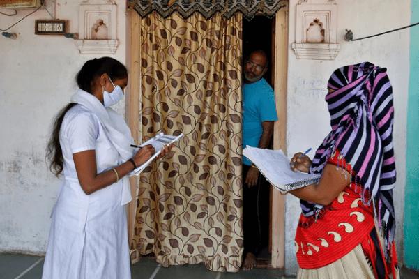 door-to-door Covid-19 vaccination