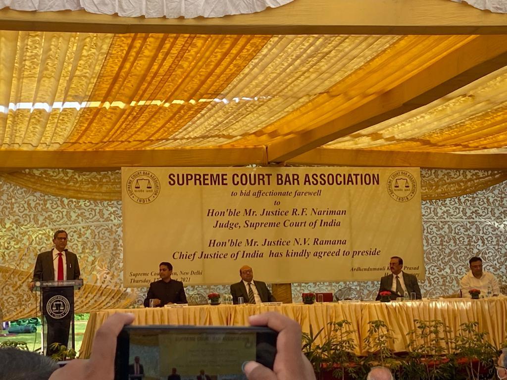 CJI N.V. Ramana speaks at the