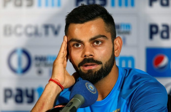 THE NEW CAPTAIN COOL: India's captain Virat Kohli speaks during a news conference ahead of their first One Day International match during India team practice session, Pune, Reuters/UNI