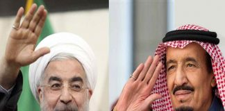 DETENTE? Relations between Iranian president Hassan Rouhani and King Salman of Saudi Arabia (right) are showing signs of improvement over a year after the Hajj tragedy that claimed 4,700 lives