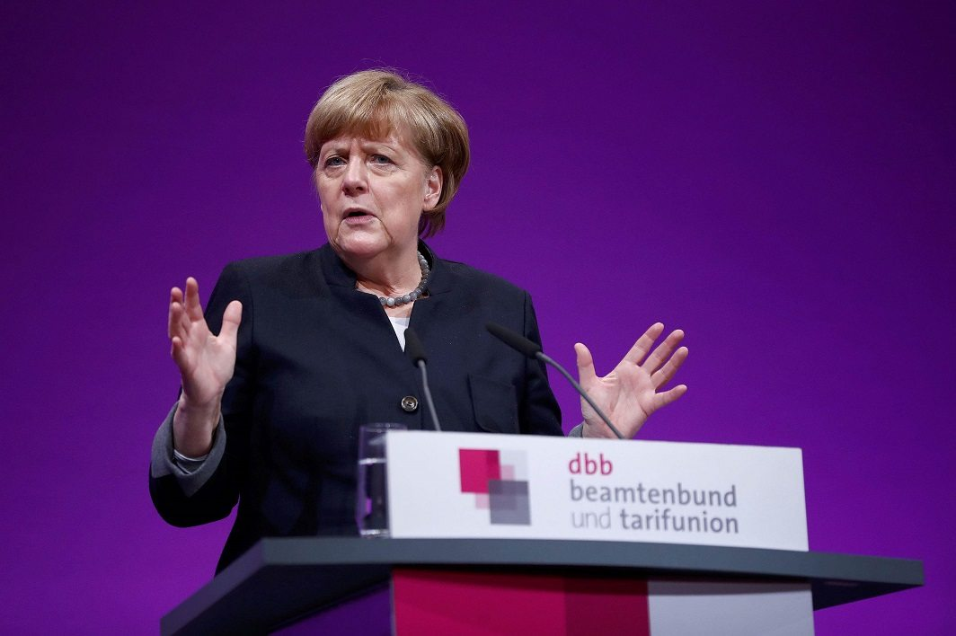 RISE OF DEGLOBALISATION: Angela Merkel seems to have gone back on her open-door policy for refugees in order to appease the voter
