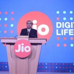 Reliance Jio chairman Mukhesh Ambani announces the extension of its free 4G services till March 31 under the Happy New Year Plan in Mumbai in December