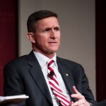 Flynn (above) resigned as the USnational security adviser after reports that he misled Vice-President Pence over discussions with the Russian ambassador