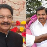 C Vidyasagar Rao (left) is set to administer the oath of office of the CM to E Palanisamy