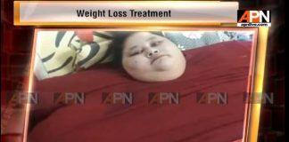 Heaviest woman looks forward to cure
