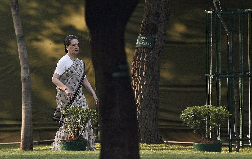 Sonia flies abroad for treatment