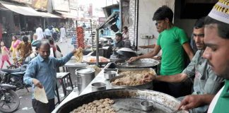 TRADITION VS BELIEF: A tunde ke kabab outlet in the busy Aminabad area in Lucknow wears a deserted look. The slaughterhouse ban in UP has hit restaurants selling this traditional delicacy as well as others such as the galawati kabab hard, UNI