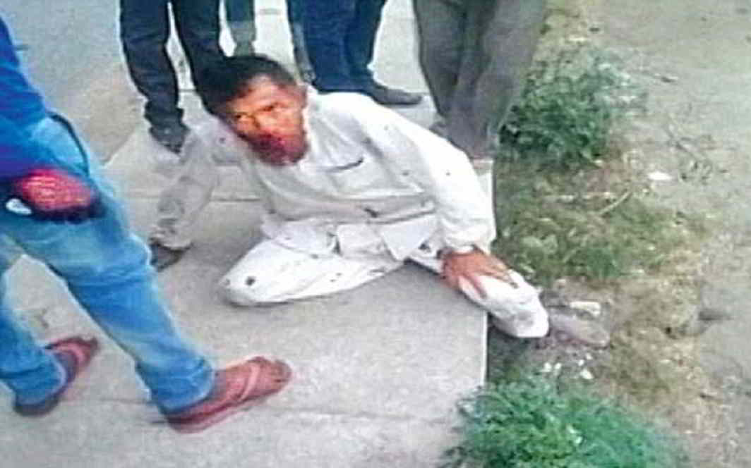 A video-grab of the lynching of Pehlu Khan, a 55-year-old dairy farmer from Alwar, Rajasthan