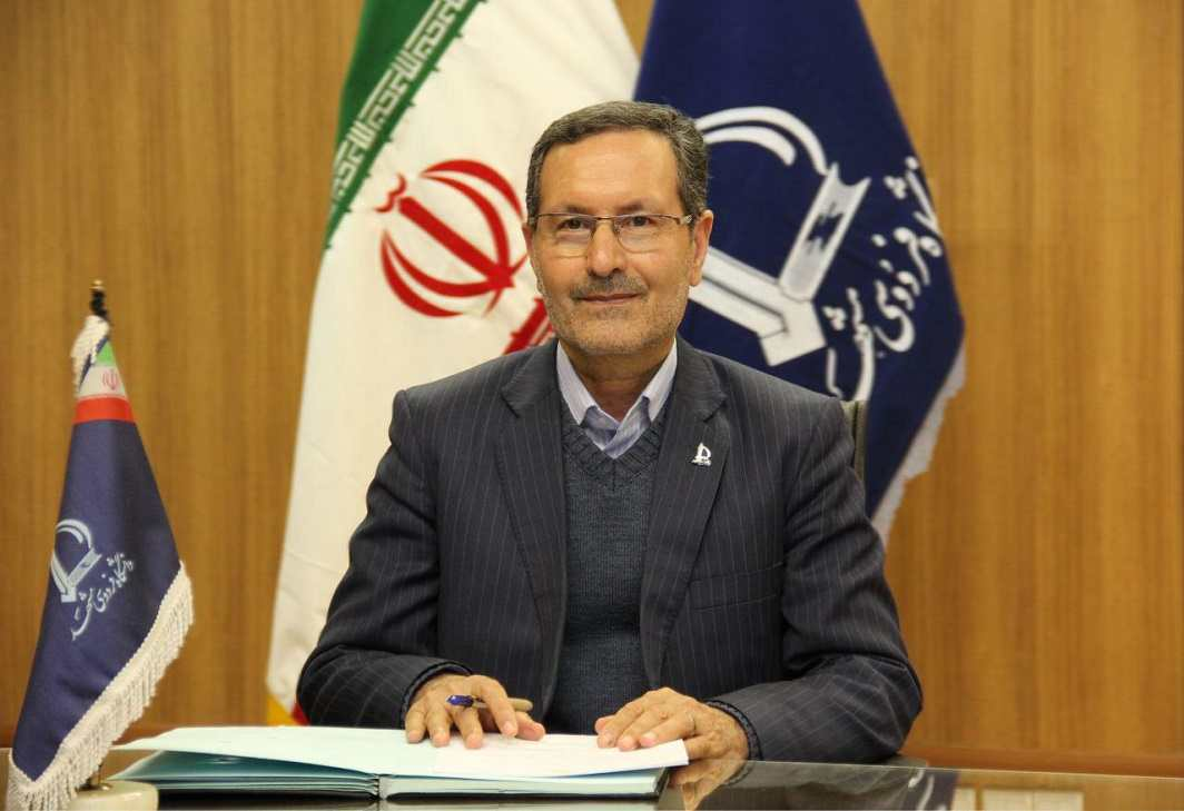 Professor Mohammad Kafi, president of Ferdowsi University of Mashhad
