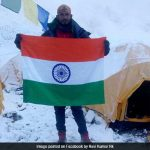 Indian climber missing on Everest
