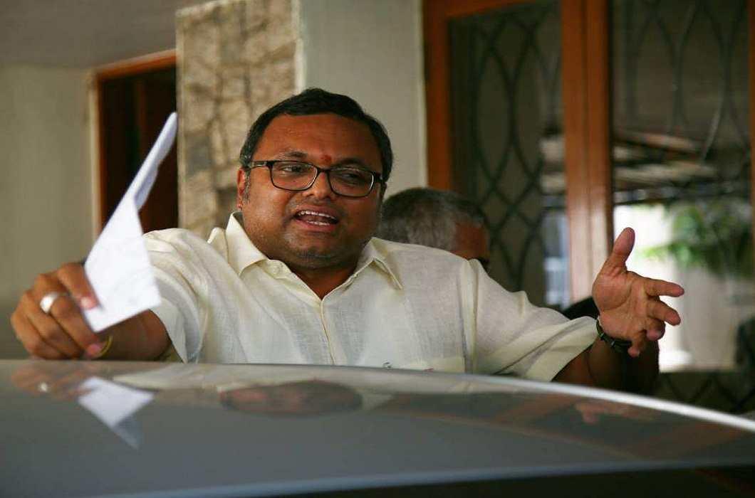 ED files new money laundering case against Karti Chidambaram