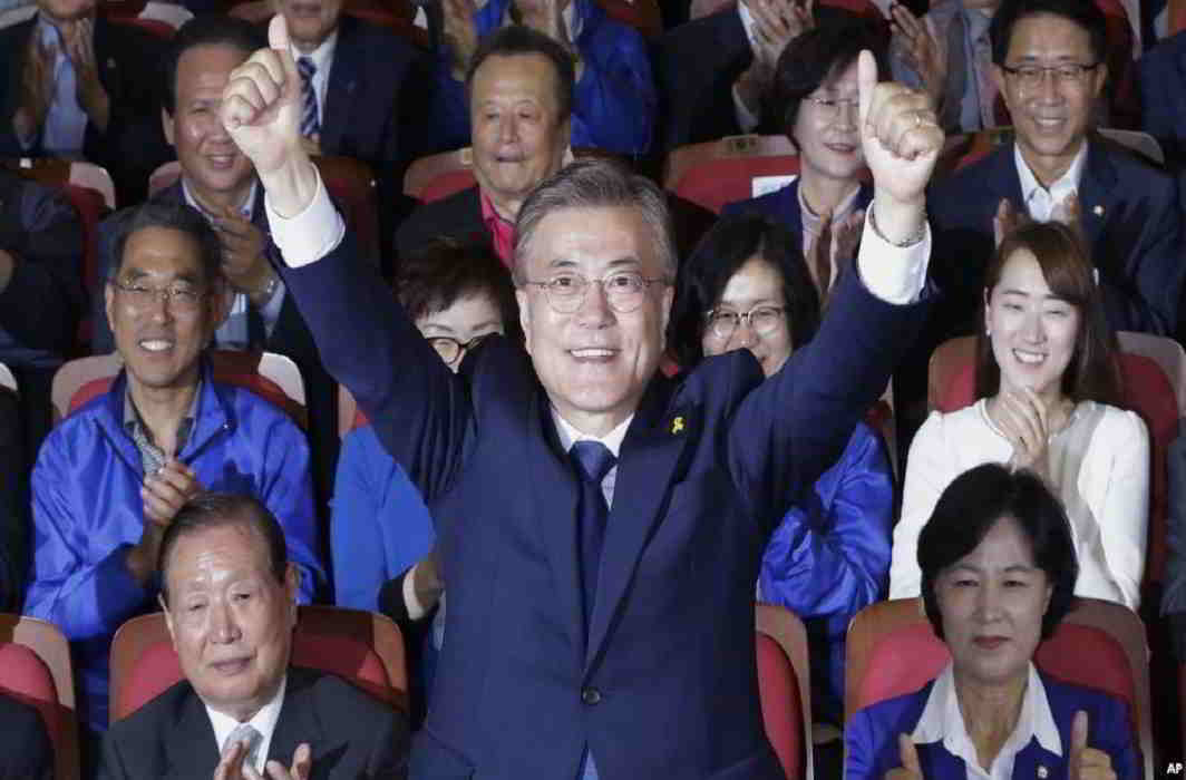 Moon Jae-in takes charge as South Korea President