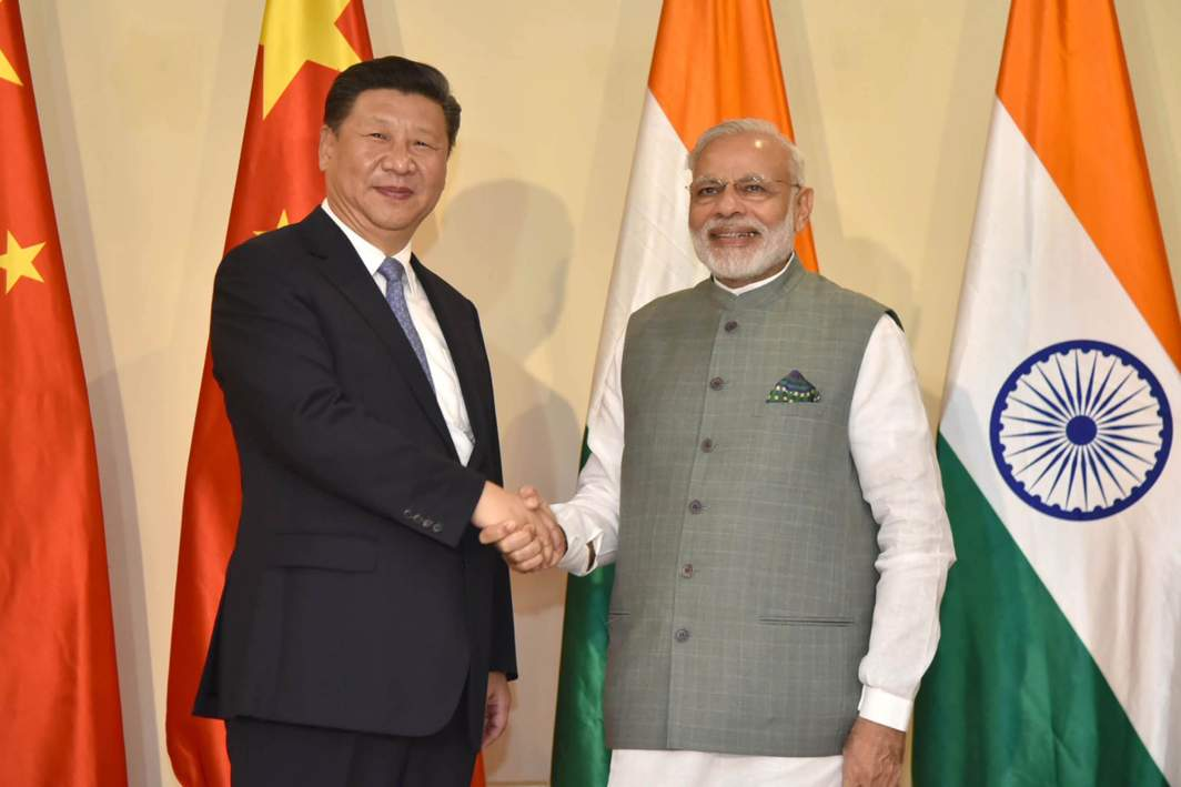 NEEDED, SOME PROACTIVE DIPLOMACY: Prime Minister Narendra Modi meets President of People's Republic of China Xi Jinping ahead of the BRICS Summit in Goa, UNI