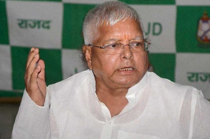Lalu says he'll uproot BJP government from Centre