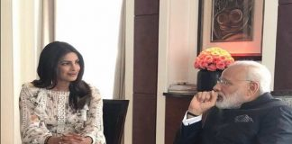 Desi girl Priyanka trolled for meeting Modi in short skirt