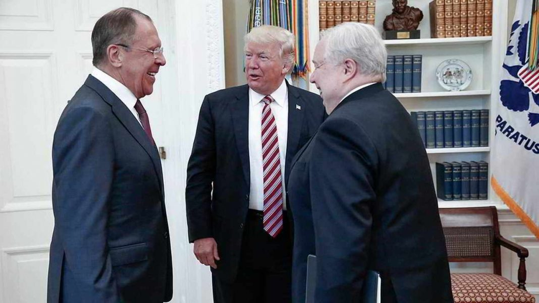 Trump shared classified info with Russian Foreign Minister, says report