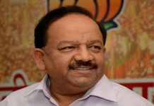 Minister Harsh Vardhan