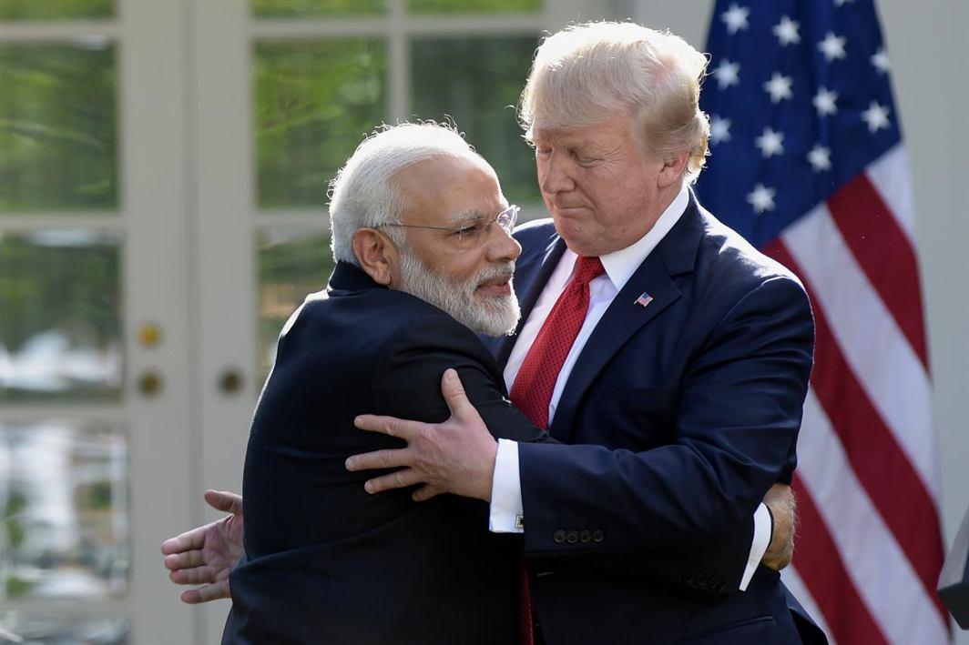 Trump and Modi developed close Chemistry