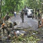 Three militants, army officer killed in an encounter in Nagaland's Mon.