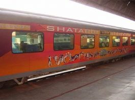 Shatabdi train