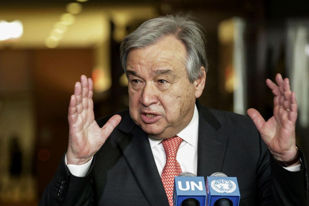 Working for India-Pak talks on Kashmir: UN Chief
