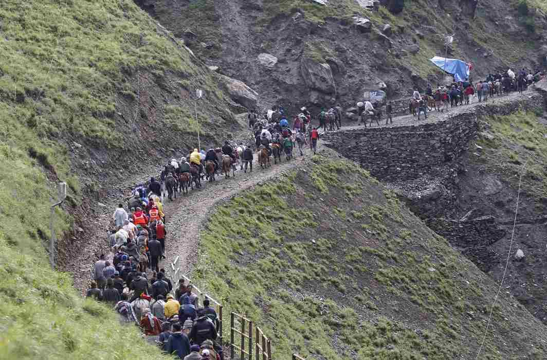 Amarnath Yatra starts amid tight security