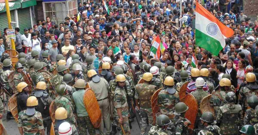 Darjeeling unrest: Strike continues amid 'silent protest' rally