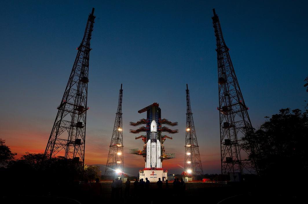 ISRO launches GSLV Mark III