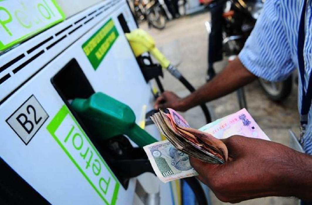Petrol prices go up by Rs 1.23 per litre, diesel by Rs 89 paisa