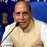 Smiling Without Answering: Rajnath confident of return of normalcy to Valley