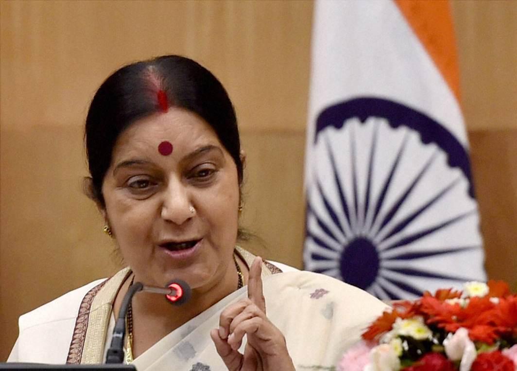 Sushma grants visa to PoK resident, asserts it belongs to India