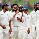 CAKEWALK: India's captain Virat Kohli celebrates with his teammates after they win Test match and series against Sri Lanka in Pallekele, Reuters/UNI