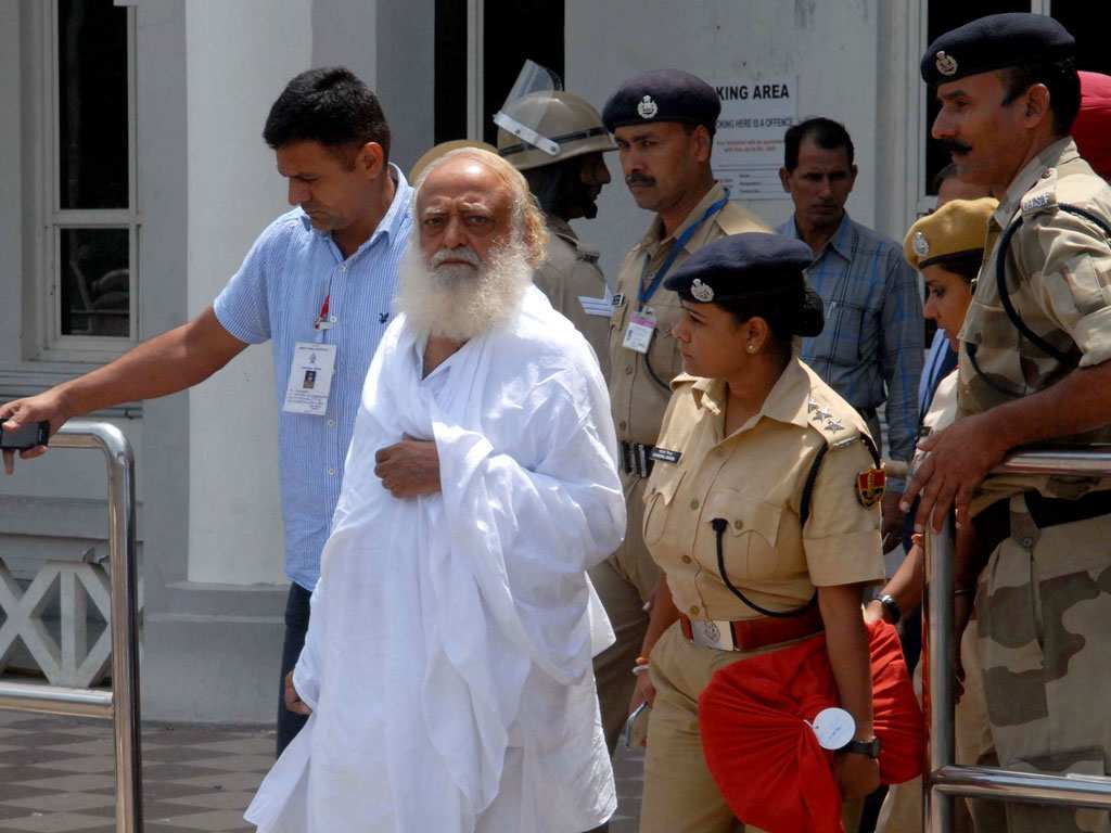 Supreme Court raps Gujarat government over slow trial in rape case against Asaram Bapu