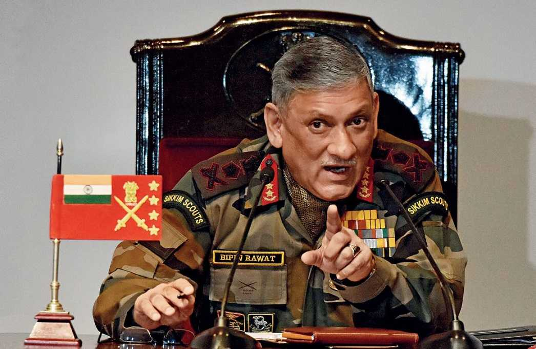 Army Chief: China Attempting to Change Status Quo