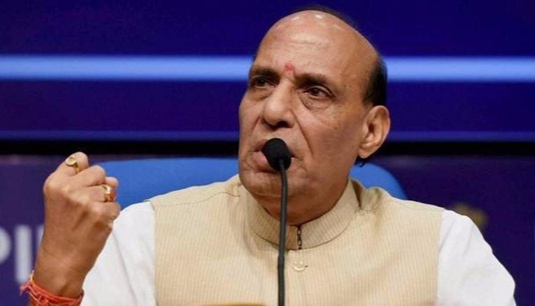 Modi's 'new India' to solve problems of Kashmir, terrorism and naxalism by 2022: Rajnath