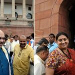 Amit Shah and Smriti Irani take oath as Rajya Sabha MPs