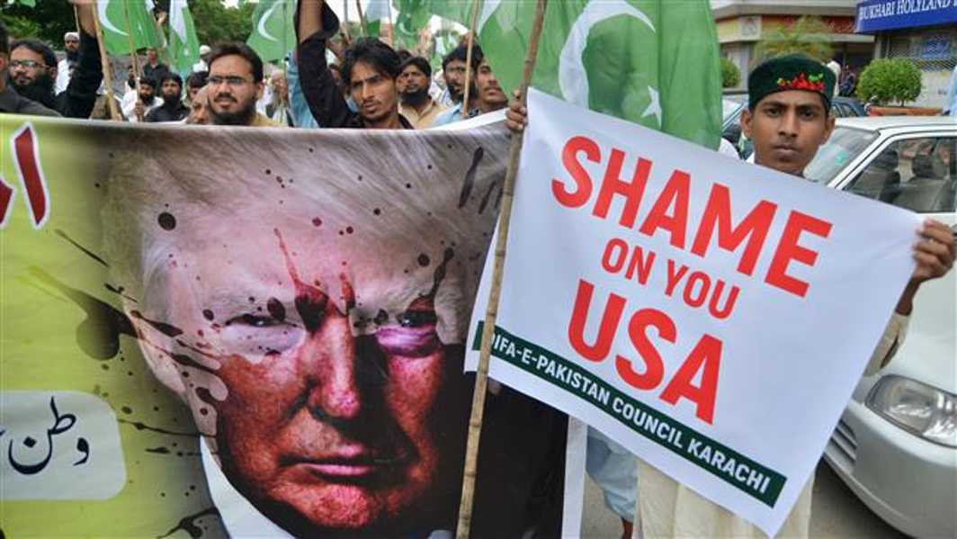 Pakistan Angry Over New US Afghan Policy