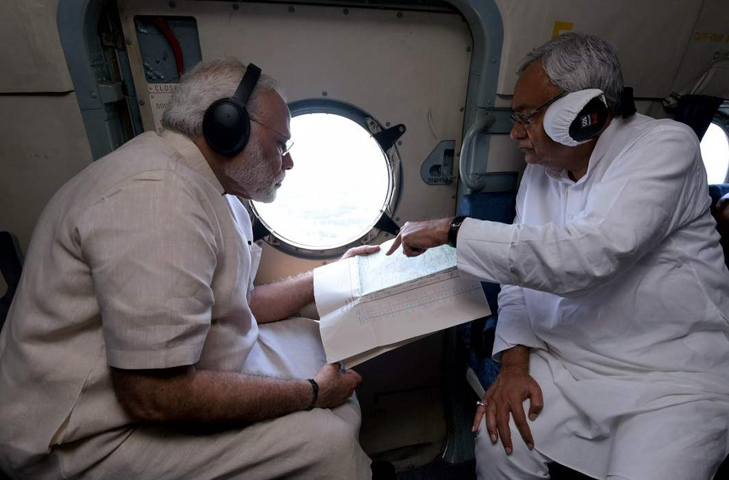 Modi announces Rs 500 crore relief package for flood-hit Bihar