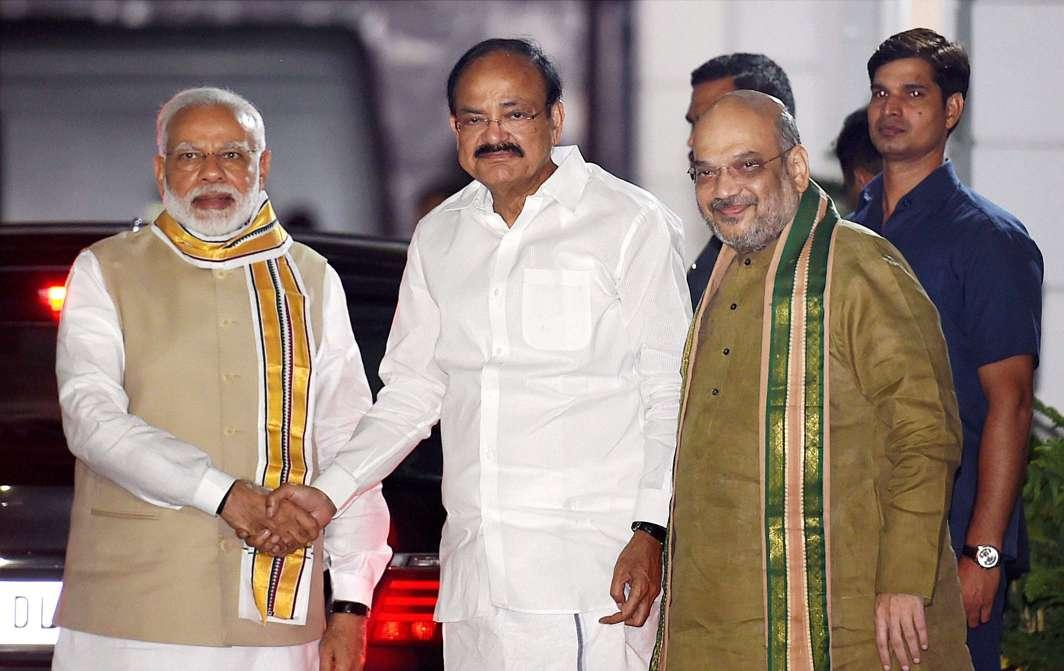 M Venkaiah Naidu elected Vice President