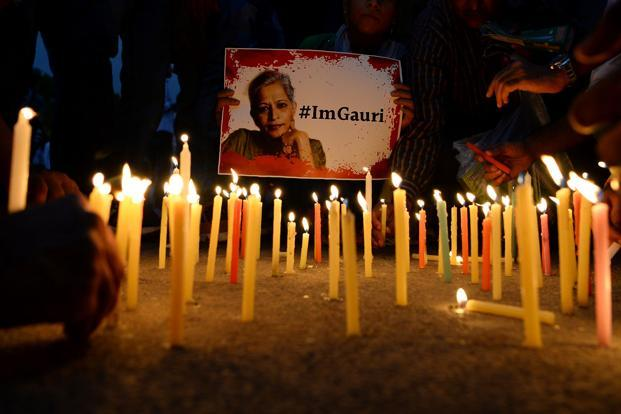 "Gauri Lankesh murder: UN rights experts urge India to check ""vicious attack"" on freedom of press"