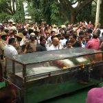 Gauri cremation