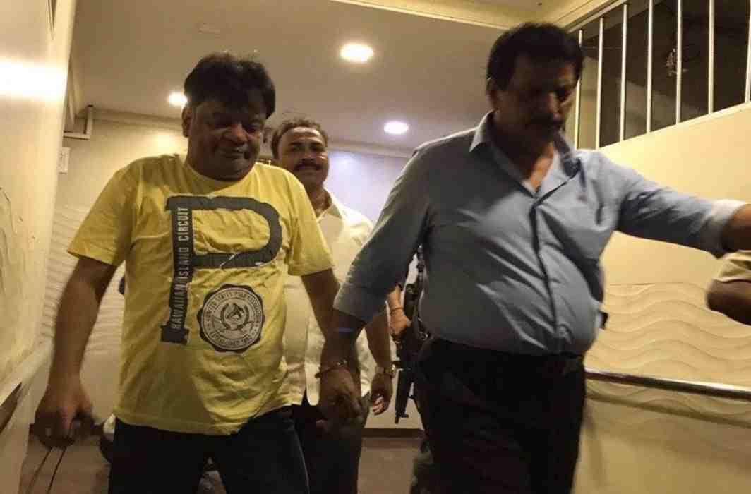 Cop dismissed for alleged links with underworld arrests Dawood Ibrahim's brother