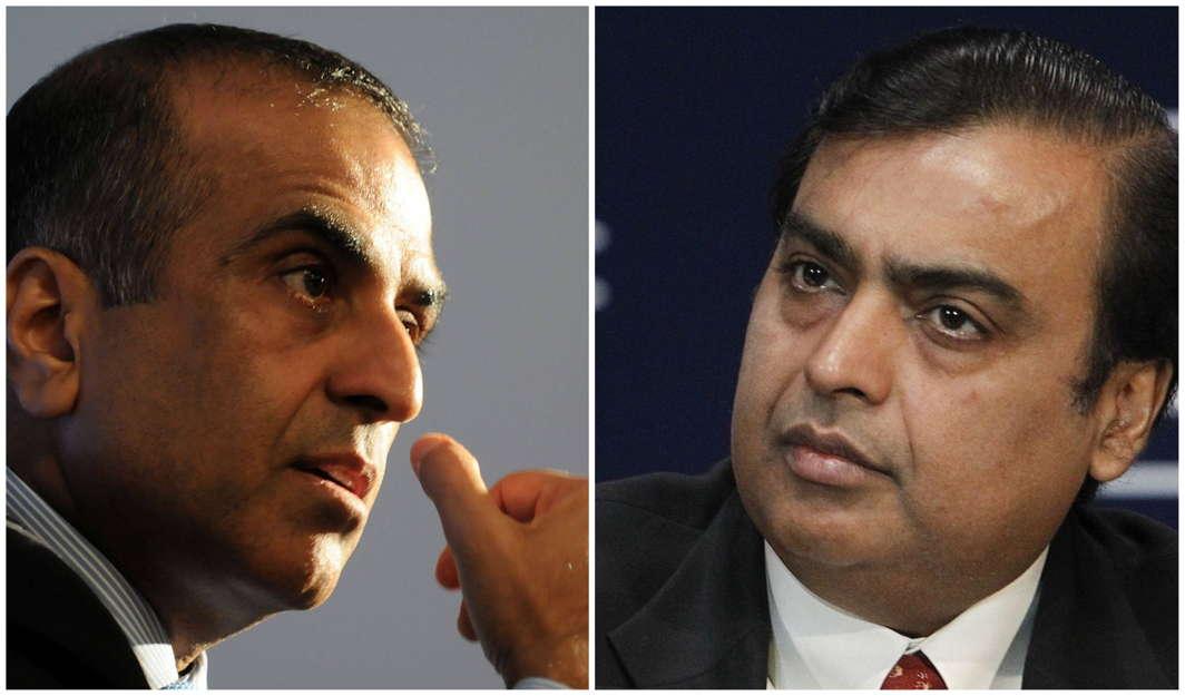 Mittal and Ambani