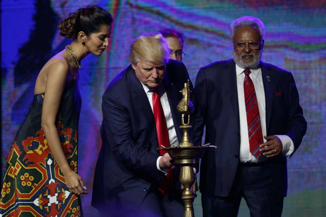 Trump host diwali celebration
