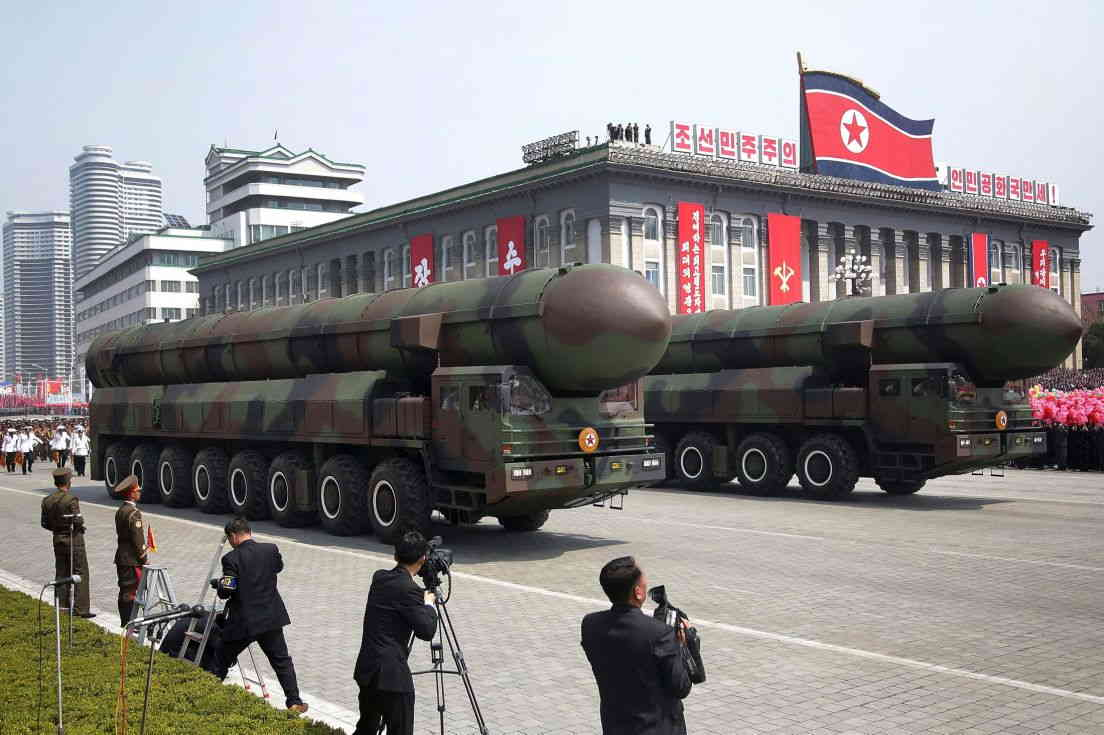 north korea arsenal