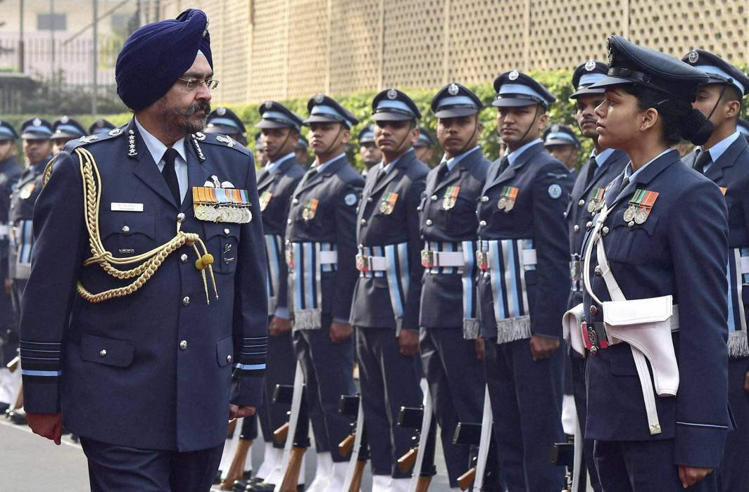 Air Force Chief Dhanoa Says Ready to Fight At Short Notice