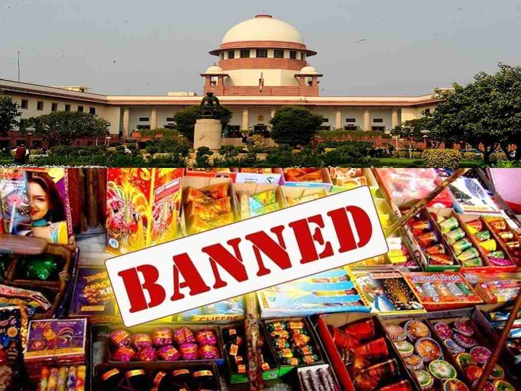 SC bans fireworks in Delhi-NCR region till November 1